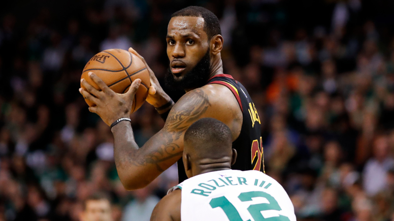 Behold LeBron's 8 Straight NBA Finals: A 100-1 Longshot Come to Life article feature image