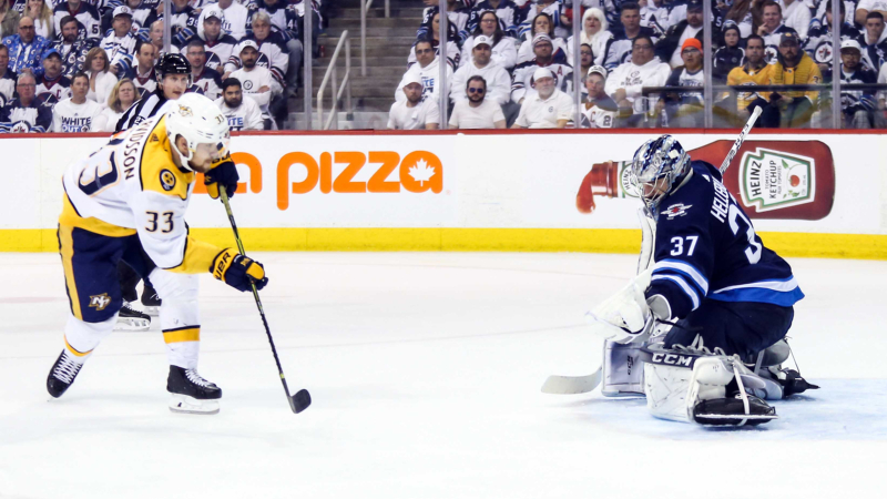 Top NHL Props for Thursday: Arvidsson Over/Under 3.0 Total Shots on Goal? article feature image