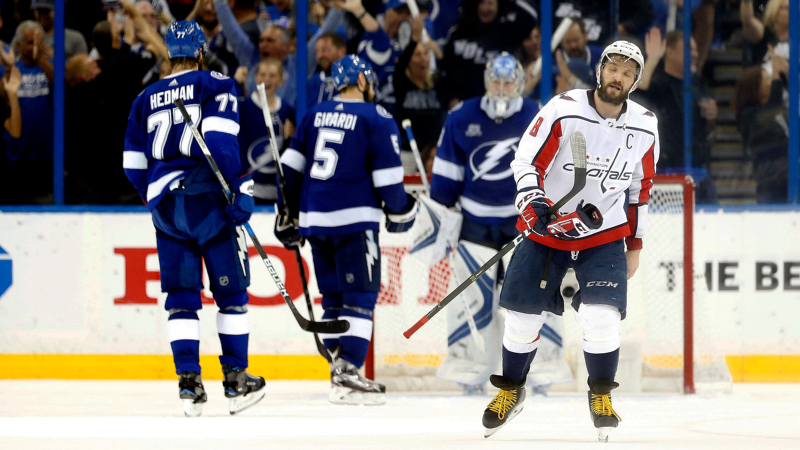 Top NHL Prop Bets for Monday: Ovechkin Over/Under 4.5 Total Shots on Goal? article feature image