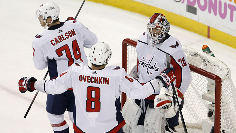 Are The Capitals Worth A Hard Look in Game 2? article feature image