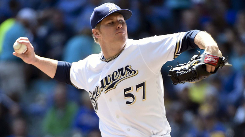 Monday's MLB Over/Under: Anderson, Greinke Do Battle in Miller Park article feature image