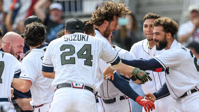Braves Bettors Get Some Air Chuck With Their Ground Chuck in Memorable Walk-off article feature image