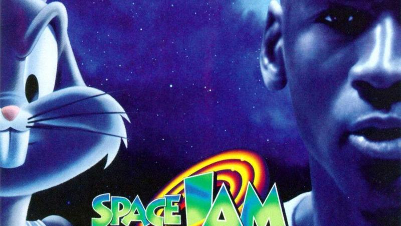 "Sharp Movie Rewind: Michael Jordan's Tune Squad vs. the Monstars in ""Space Jam"" article feature image"