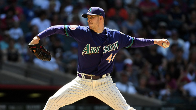 Monday's MLB Over/Under: Corbin Hosts Guerra in The Desert article feature image
