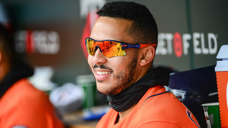 Correa's Status Moving Today's Astros-Athletics Moneyline article feature image