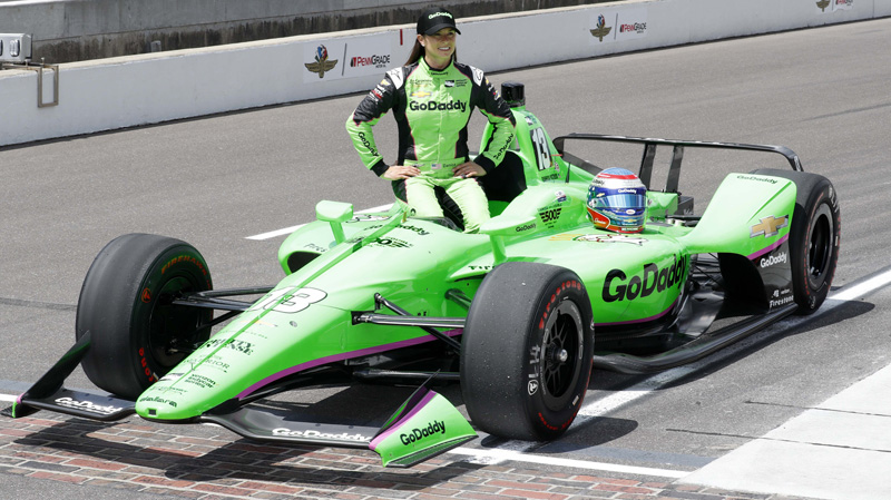 Is Danica Patrick a Legitimate Contender in Final Career Race? article feature image