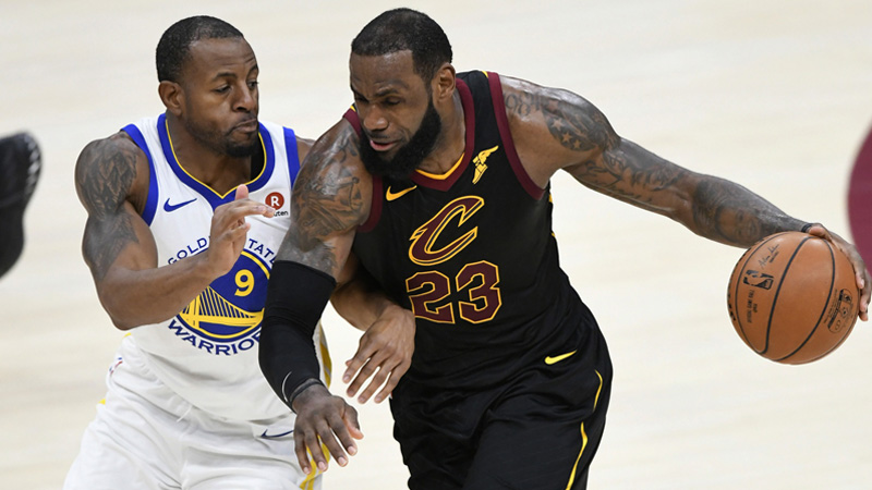 Cavaliers-Warriors NBA Finals Betting History and Results article feature image