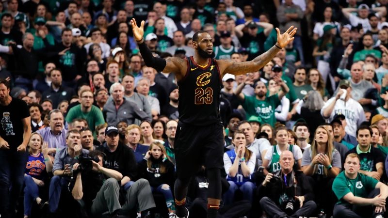 LeBron vs. Jordan: Who Is the Better Bet in the NBA Playoffs? article feature image