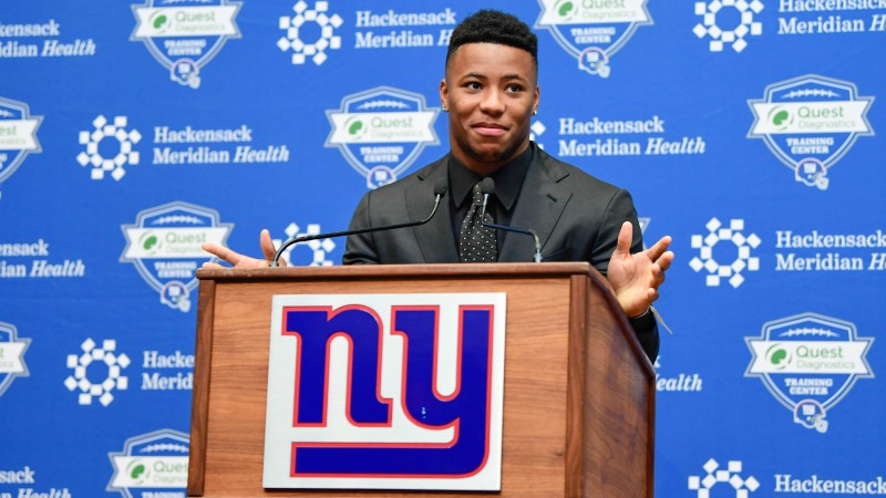 2018 NFL Offensive Rookie of the Year Odds article feature image
