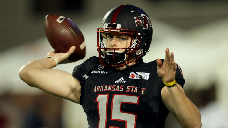 Arkansas State 2018 Betting Preview: New Sun Belt Divisions Give Red Wolves Big Edge article feature image