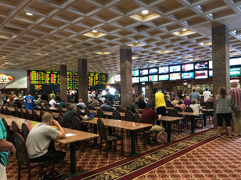delaware park casino sports betting hours worked