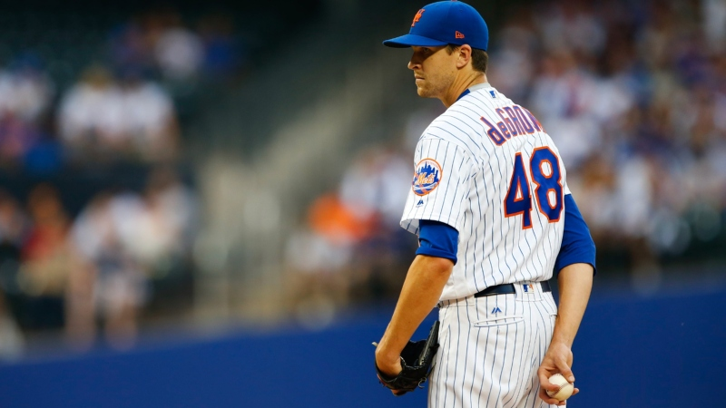 Friday's MLB Over/Under: Jacob deGrom Faces Rays' Bullpen Battalion article feature image