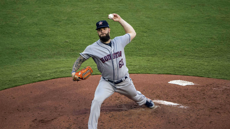 Friday's MLB Over/Under: Motivated Mike Fiers Returns to Houston article feature image