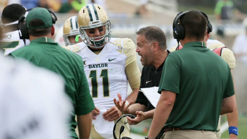 Baylor 2018 Betting Preview: Get Ready to Back the Bears in Rhule's Year 2 article feature image