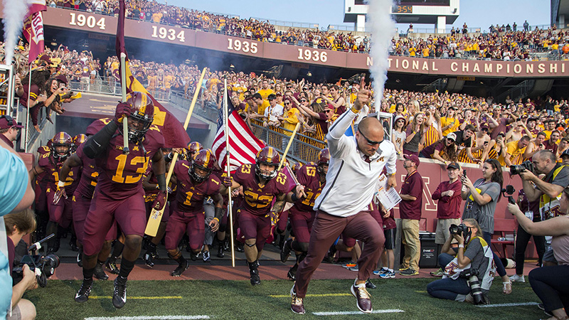 Minnesota 2018 Betting Preview: Will Gophers Improve In Fleck's Second Season? article feature image