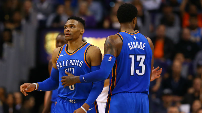 How Paul George's Return to OKC Changes Thunder's Outlook, Now and Long-Term article feature image