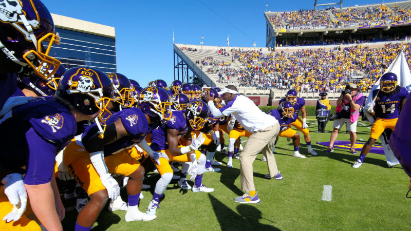 ECU 2018 Betting Preview: Can A New Defensive Coordinator Save the Pirates? article feature image