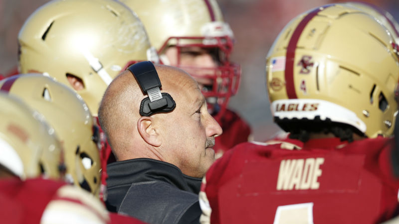 Boston College 2018 Betting Preview: Tough Schedule Could Sink Up-Tempo Eagles article feature image