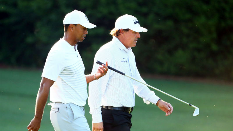 Tiger Woods, Phil Mickelson Planning $10 Million Head-To-Head Match article feature image