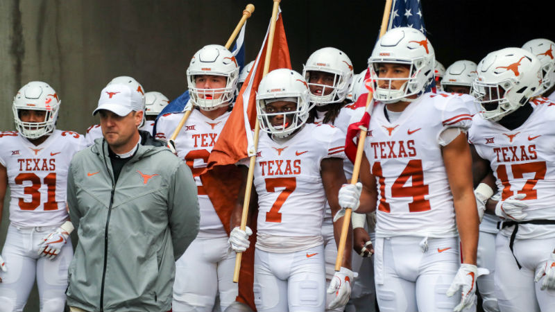 Texas 2018 Betting Preview: Back Longhorns to Reach Big 12 Title Game article feature image
