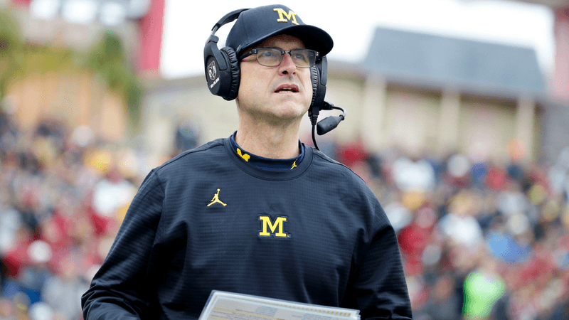 Tuesday's Lead: Harbaugh and Sports Betting, Fantasy Football Top 200, More article feature image