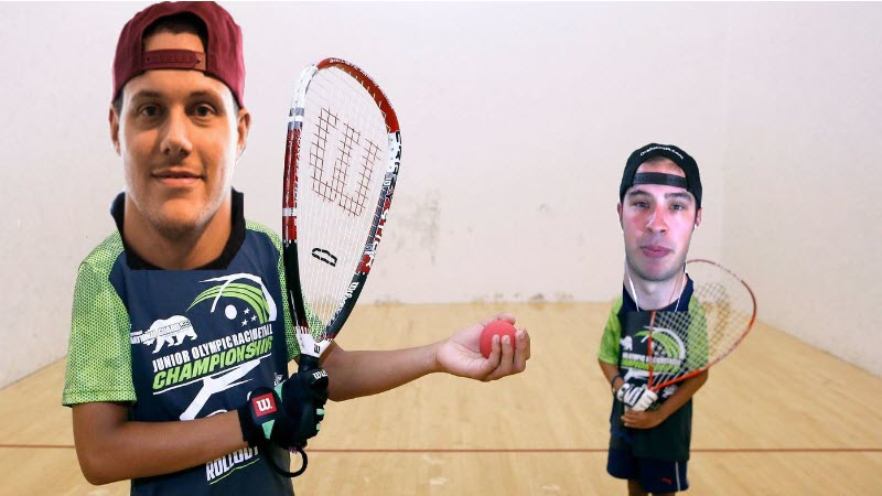 2018 Gambling Olympics: Jennings Has the Heart to Win $3,000 Racquetball Bet vs. Bales article feature image