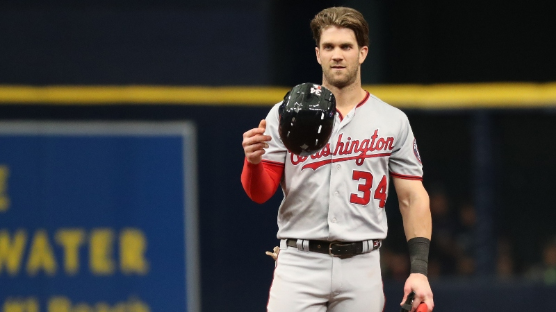 Ewing: History Says Fade Bryce Harper in the Home Run Derby article feature image
