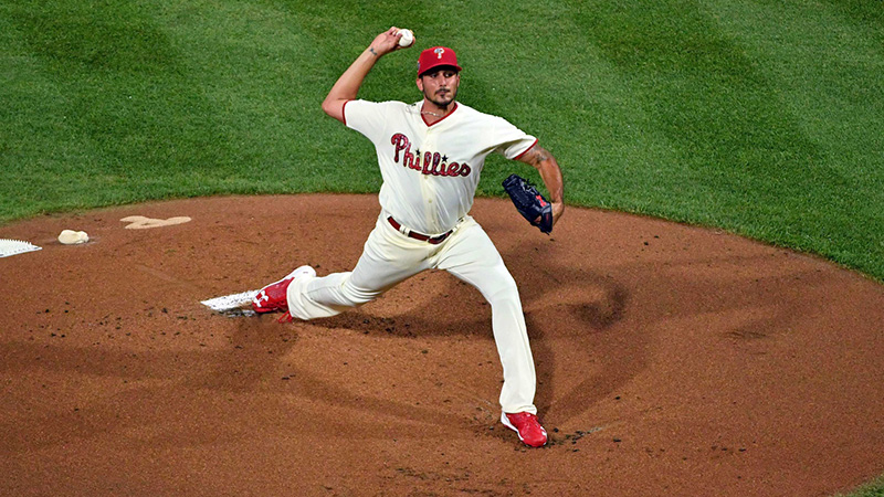 Monday's MLB Over/Under: Wheeler Takes On Eflin In Game 1 of Twin Bill article feature image
