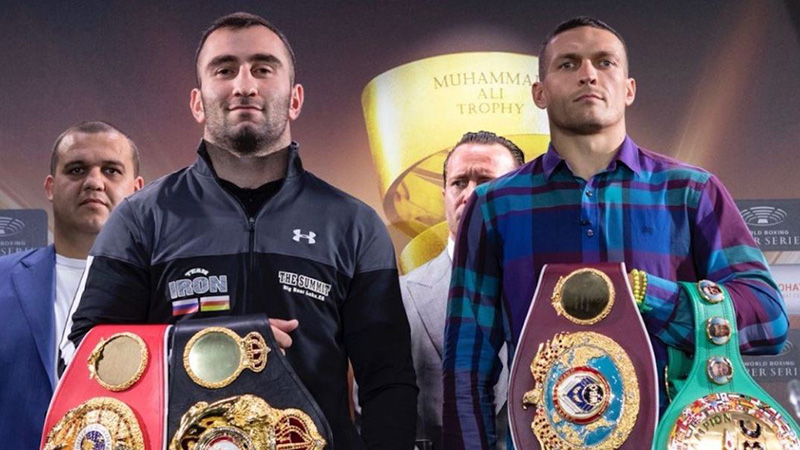 Boxing: Should You Follow the Line Movement in Usyk vs. Gassiev? article feature image
