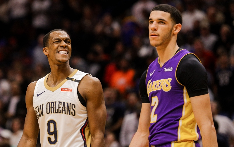 Rajon Rondo vs. Lonzo Ball: Breaking Down Their Season Props with the Lakers article feature image