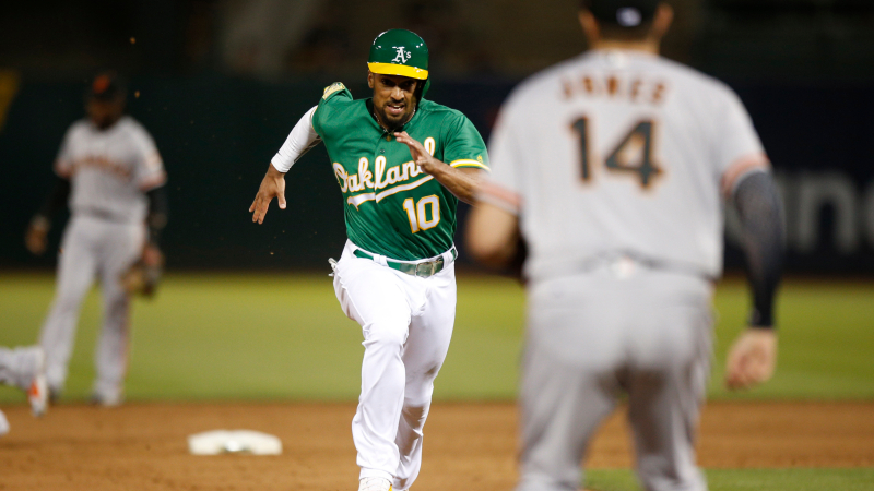 Saturday MLB Sharp Report: Pros Betting Giants-A's, 4 Other Games article feature image
