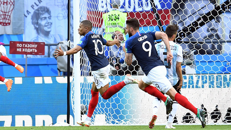 France Favored Over Croatia In World Cup Final article feature image