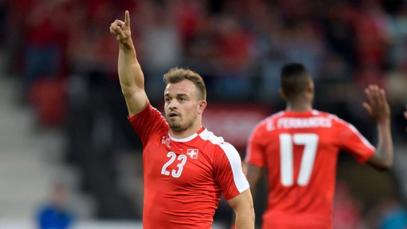 Sweden vs. Switzerland: Shaqiri Could Prove the Difference in Tight Battle article feature image