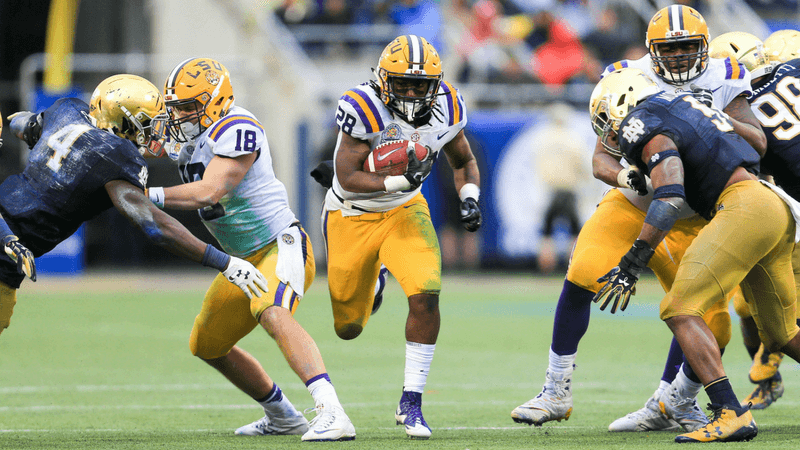 LSU 2018 Betting Preview: Schedule Will Prove Too Tough for Tigers article feature image