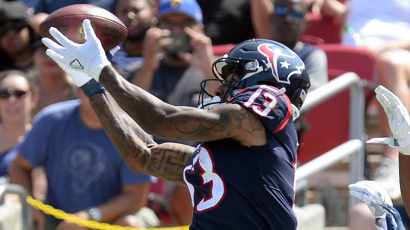 Cowboys vs. Texans Preseason Betting Odds: Braxton Miller Could See Early-Season Targets article feature image
