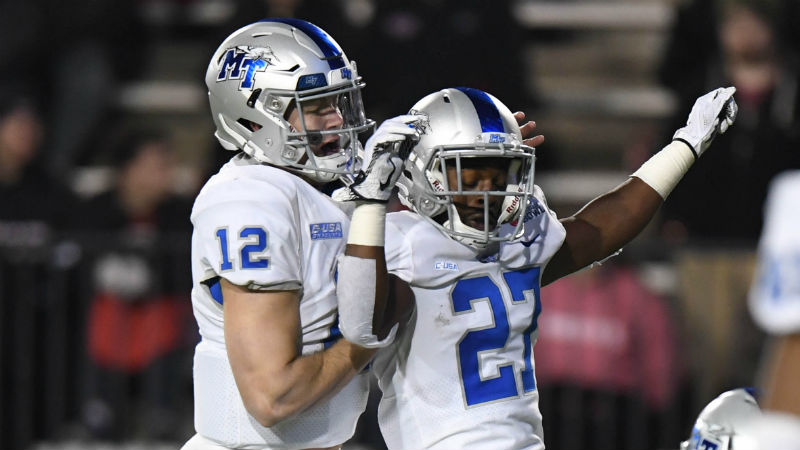Middle Tennessee 2018 Betting Preview: Healthy Brent Stockstill Will Cash the Over article feature image