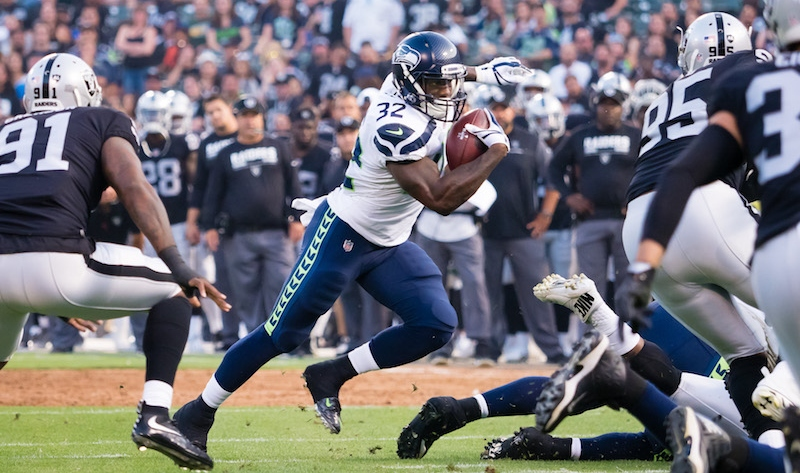 Chargers vs. Seahawks Preseason Betting Odds: Seattle's Backfield Situation Murky article feature image