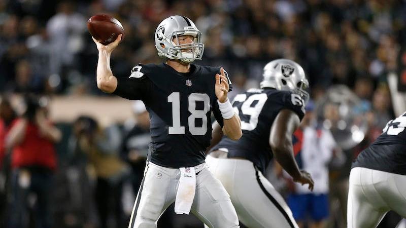 Raiders vs. Seahawks Preseason Betting Odds: Oakland's Backup QB Situation Looks Bleak article feature image
