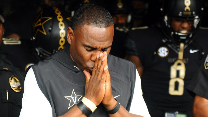 Vanderbilt 2018 Betting Preview: Derek Mason Is Coaching for His Job article feature image