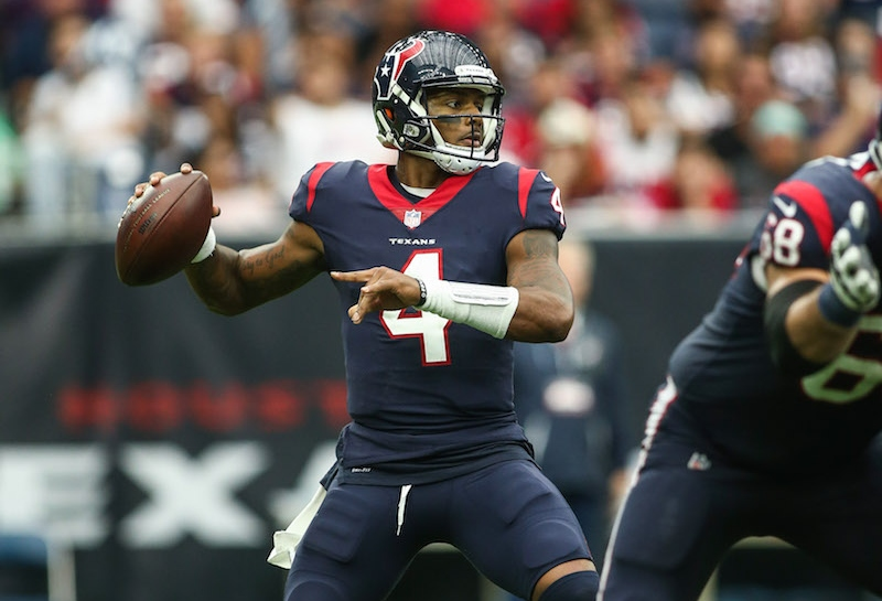 Texans vs. 49ers Preseason Betting Odds: Deshaun Watson, Starters Won't Play Much article feature image