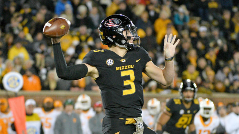 Missouri 2018 Betting Preview: Putting Blind Faith in QB Drew Lock article feature image