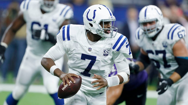 Colts vs. Bengals Preseason Betting Odds: Jacoby Brissett to Start for Indy article feature image