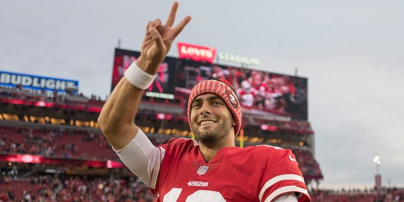 2018 San Francisco 49ers Betting Odds & Season Preview: Bet on Jimmy Garoppolo to Reach Super Bowl article feature image
