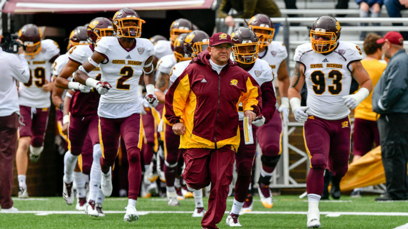 Central Michigan 2018 Betting Preview: Major Rebuild Needed article feature image