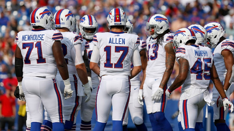 Bills vs. Bears Preseason Betting Odds: Buffalo's QB Competition Continues article feature image