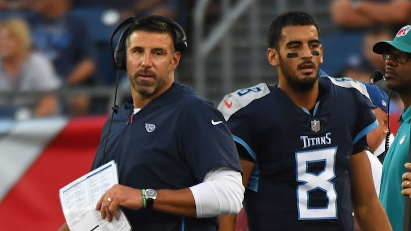 2018 Tennessee Titans Betting Odds & Season Preview: Don't Bet on a Big Year 1 for Mike Vrabel article feature image