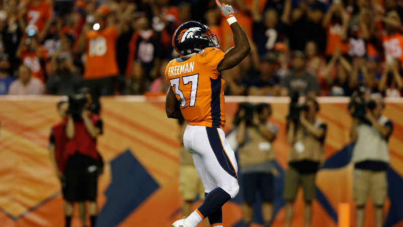 Redskins vs. Broncos Preseason Betting Odds: Royce Freeman Has Inside Track to RB1 Job article feature image