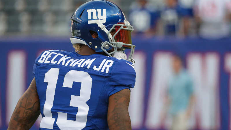 3 Times Odell Beckham Jr. Single-Handedly Got Giants Bettors Paid article feature image