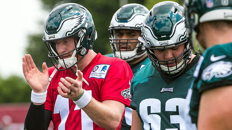Steelers vs. Eagles Preseason Betting Odds: Don't Expect to See Many of Philly's Starters article feature image