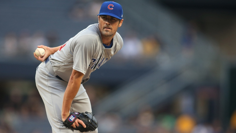 Thursday's MLB Over/Under: Can Anthony DeSclafani, Cole Hamels Keep Their Streaks Going? article feature image